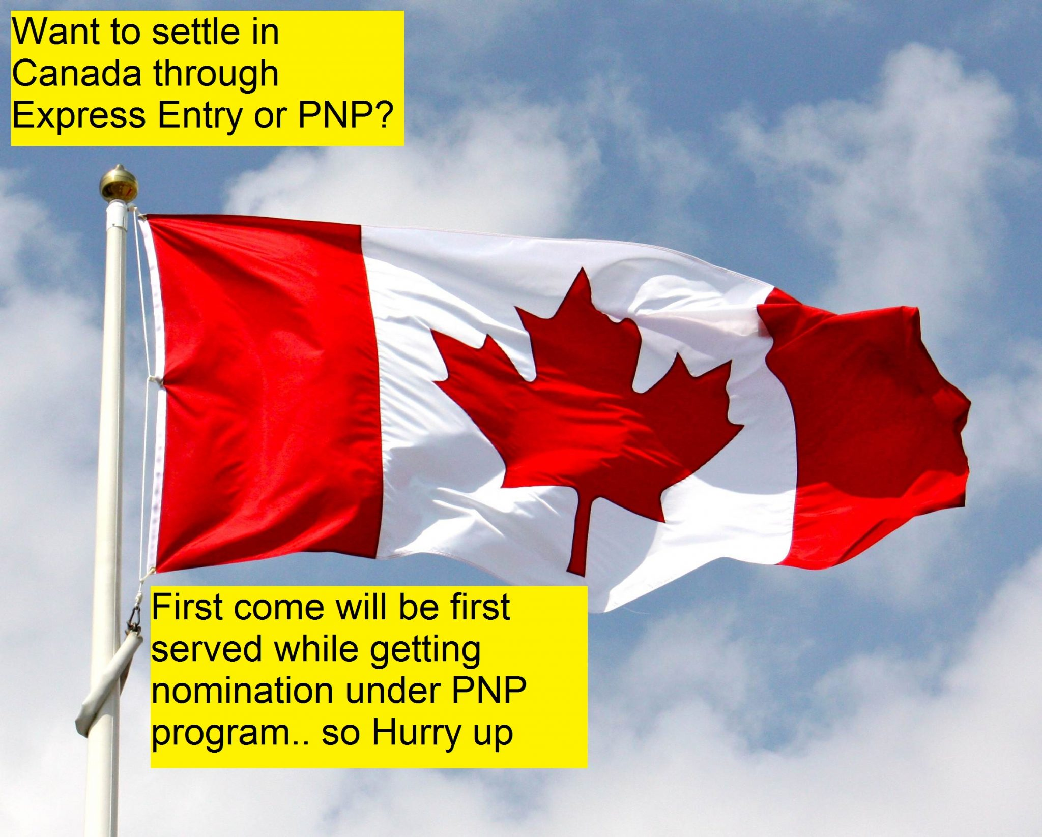 different approaches adopted by Express entry and Provincial Nomination Program