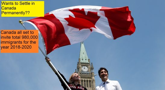 Canada all set to invite new immigrants for the year 2018-2020
