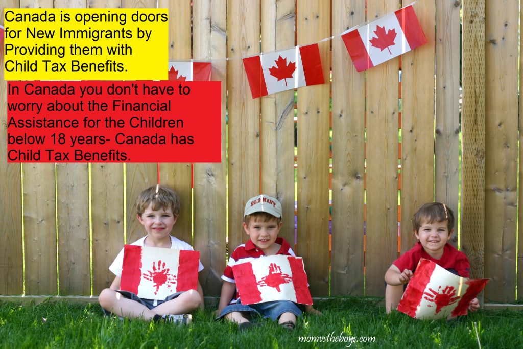 Child Tax Benefit policies for New Immigrants in Canada