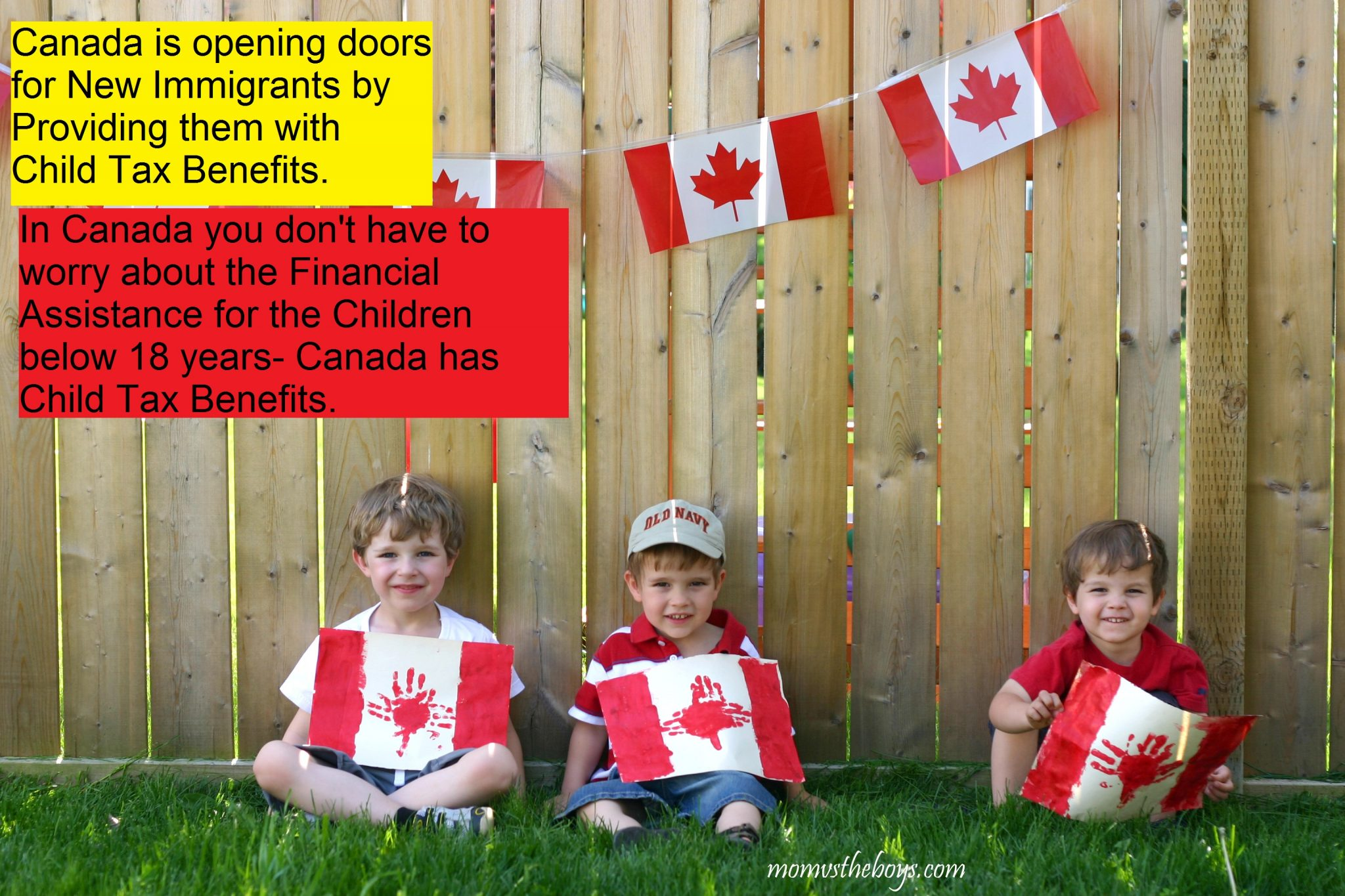 Child Tax Benefit policies for New Immigrants in Canada- Super Beneficial