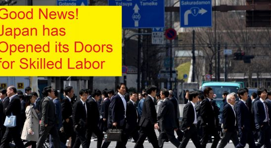 Labor Crisis in Japan - A lookout for an immigrant