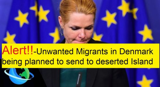 Migrants in Denmark being planned to send to deserted Island