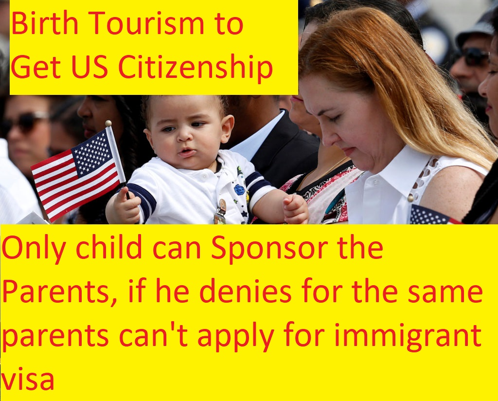 All about the Parents who Choose Birth Tourism to Get US Citizenship