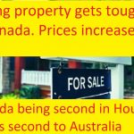 Buying property gets tougher in Canada
