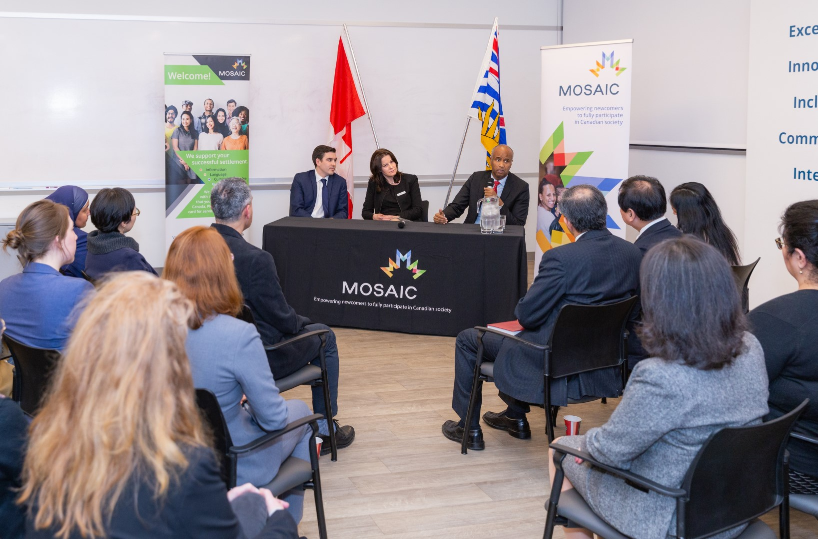 Many services are available to help newcomers in Settling in Canada