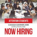 Need a Summer Job? Canada Summer Jobs program is now Hiring