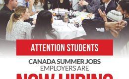 Need a Summer Job? Canada Summer Jobs program is now Hiring