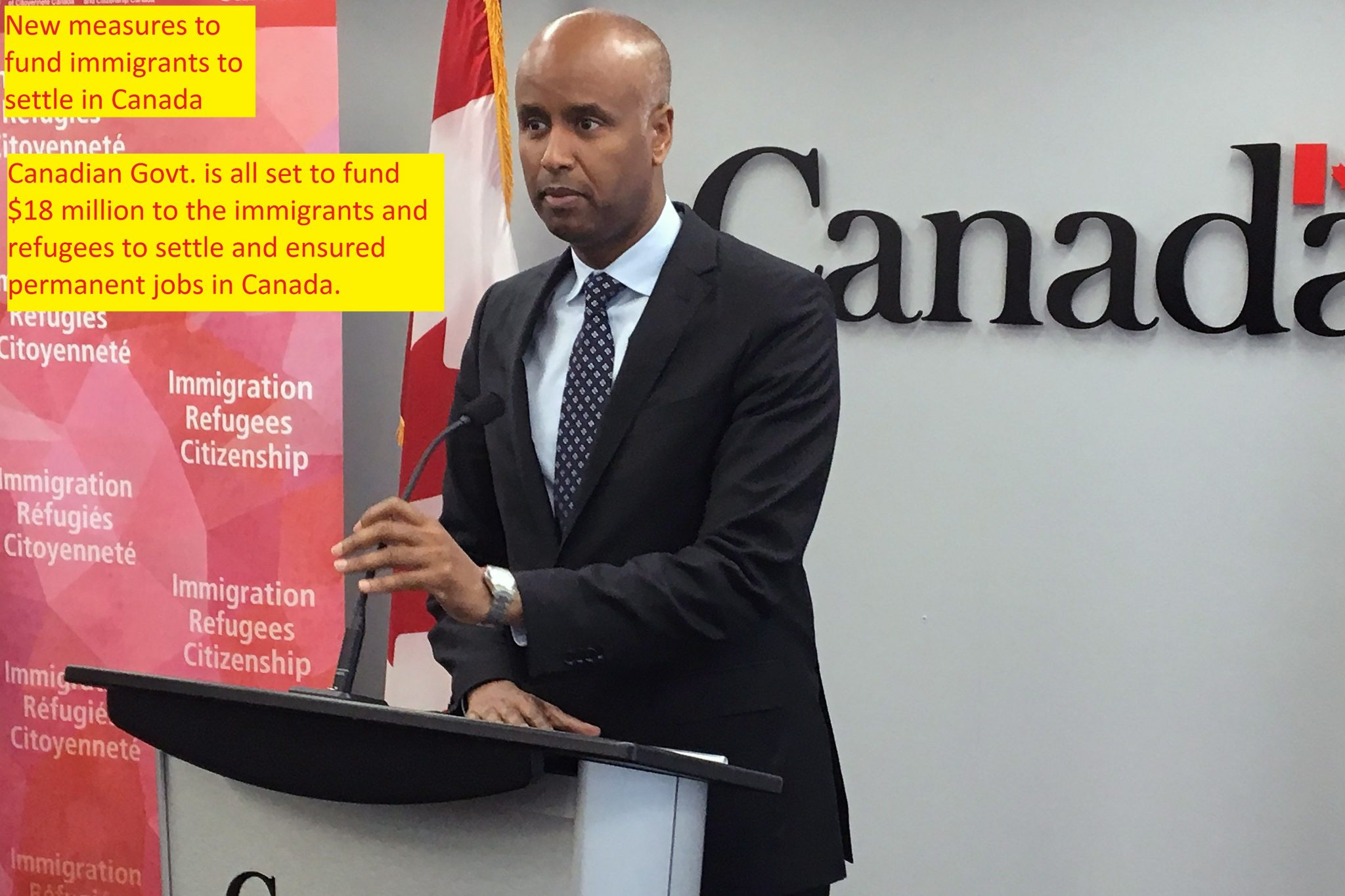 New measures to fund immigrants to settle in Canada