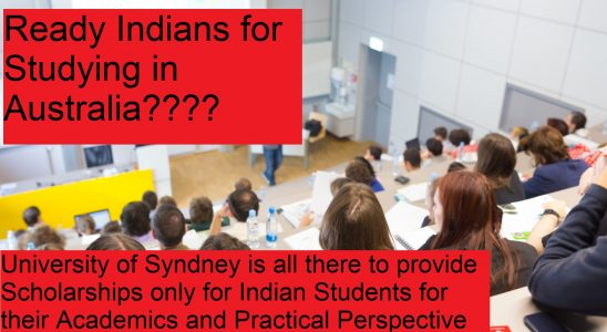 Chance for Indian students to study in Sydney in Scholarships