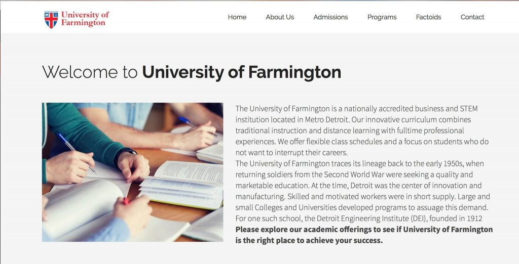 Immigration and Customs Agents set up a fake university to enroll hundreds of foreign students as part of a sting operation