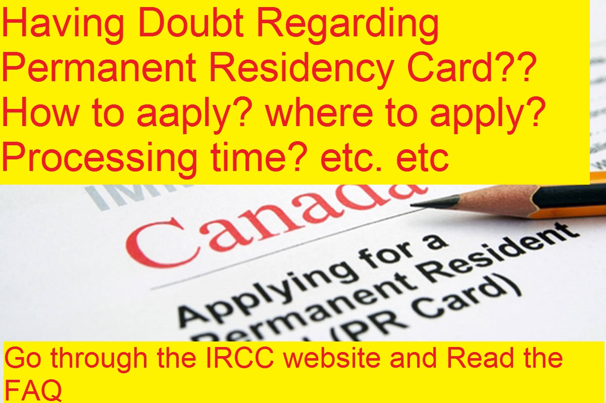 Frequently Asked Questions About the Permanent Resident Card of Canada