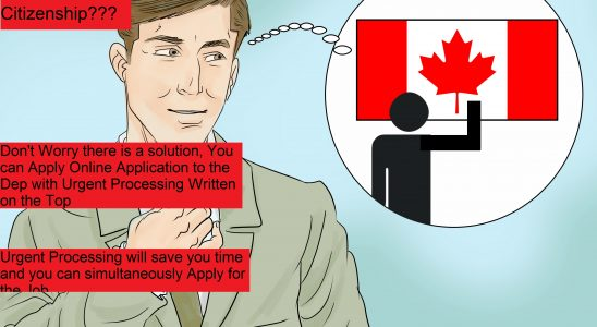 Urgent Application for Citizenship in Canada