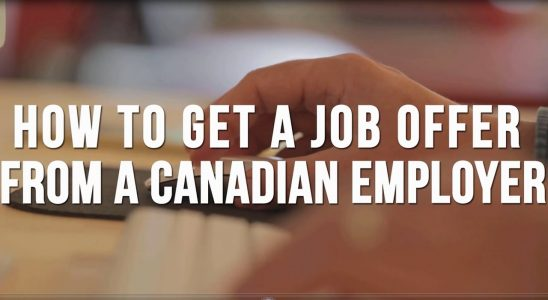How to get a Job Offer from Canada