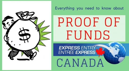 Proof of funds - Do you need to show financial evidence to settle down in Canada? Why?