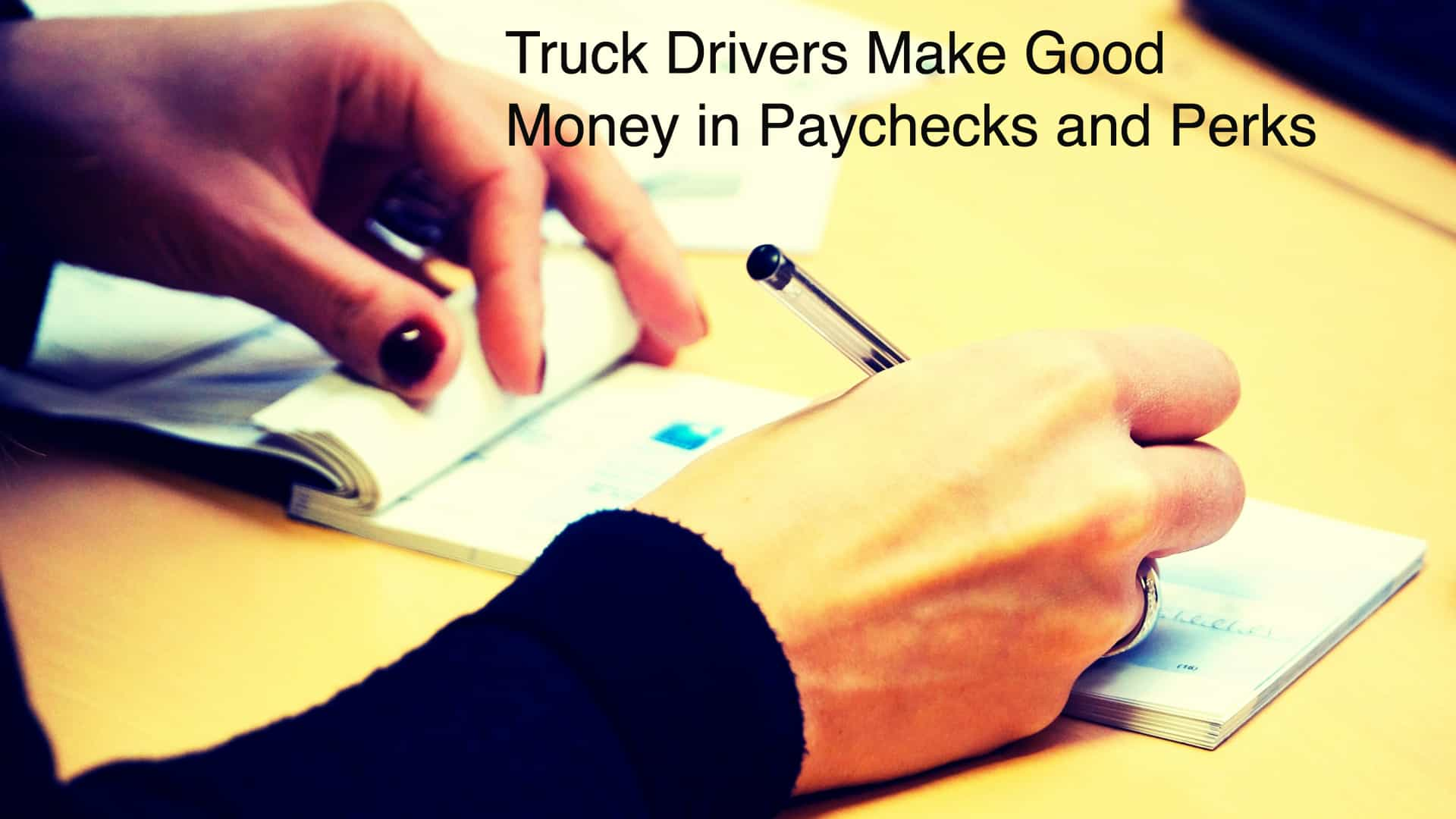 Truck Drivers in the US Earning Tons of Money- Are you Interested?