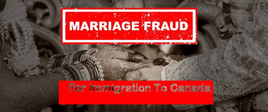 How Are Marriages Used as a Cover for Immigration to Canada?
