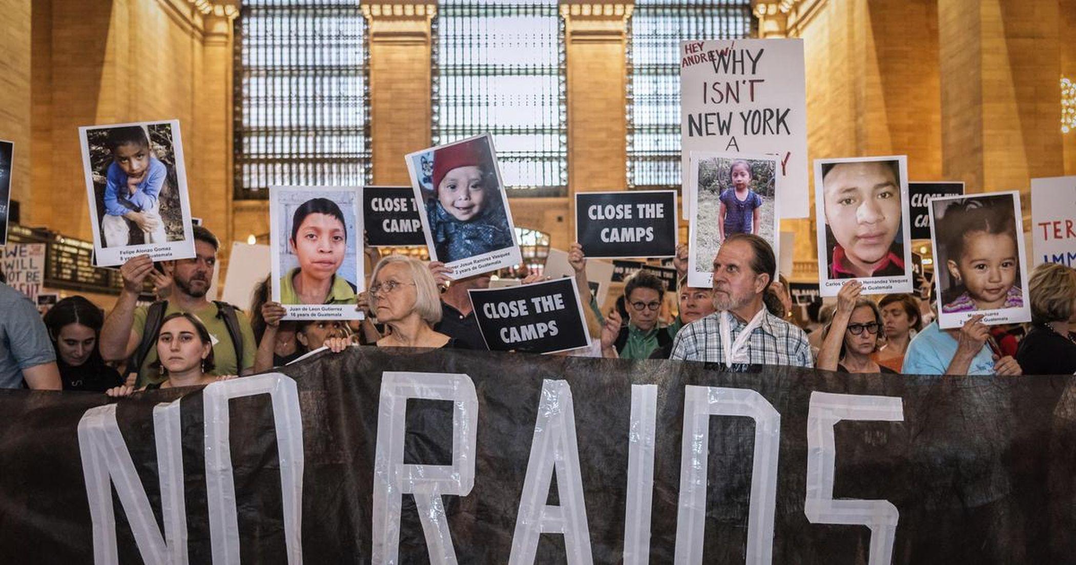 Immigrant Neighborhoods Brace Themselves For ICE Raids