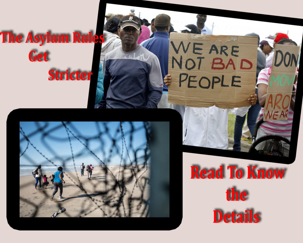 Asylum Rules Get Stricter