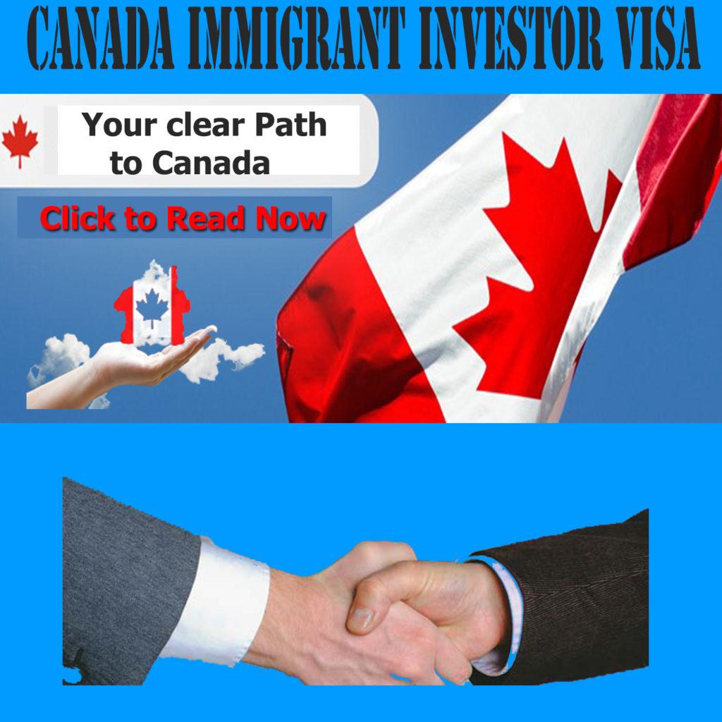Canada's Investors Visa Program