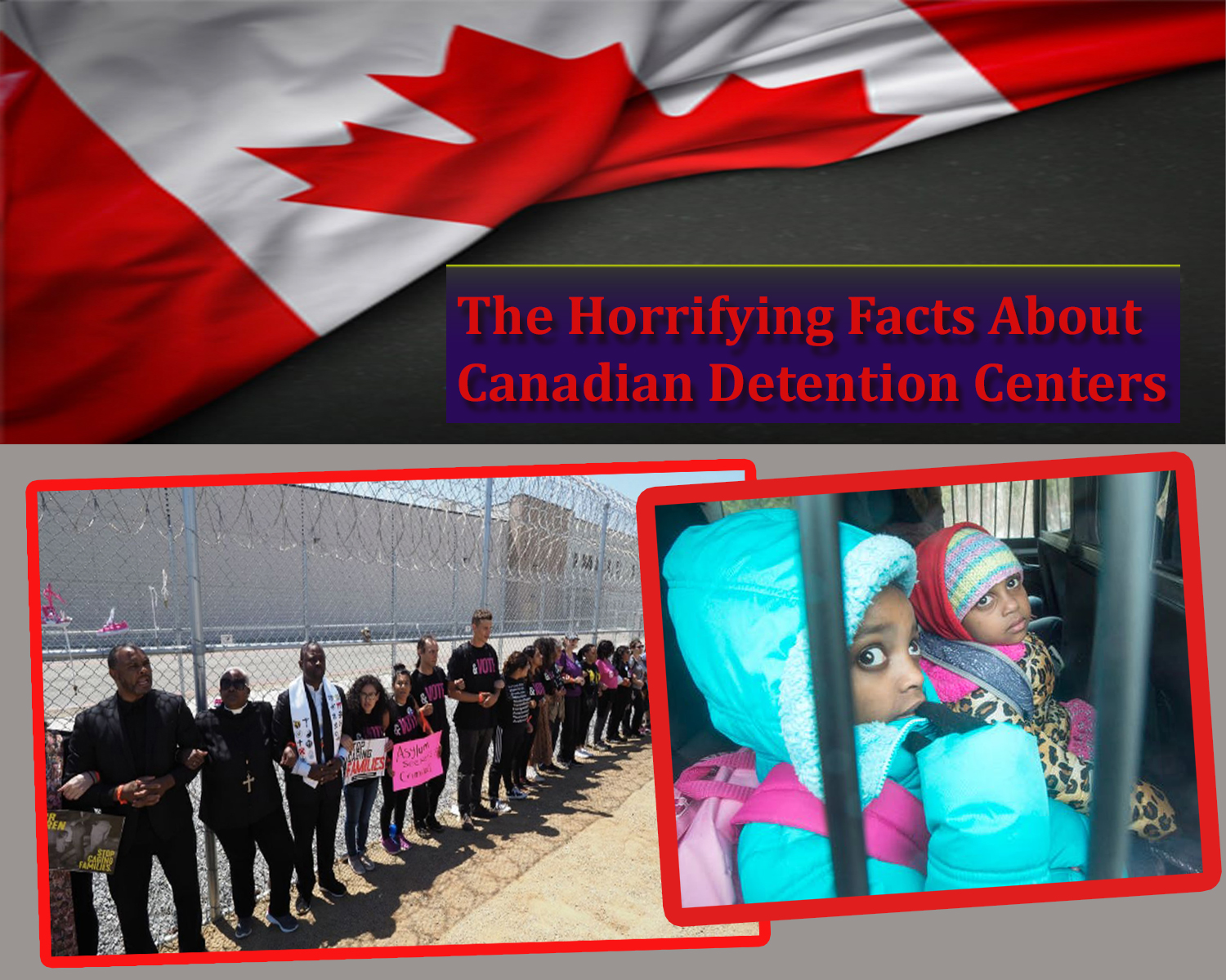 Different Ways in which Canada Handles Migration Detainees