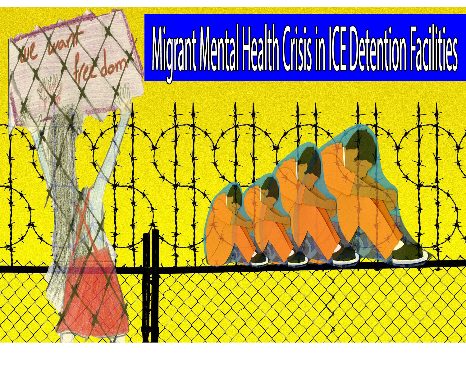 Migrant Mental Health Crisis in ICE Detention Facilities