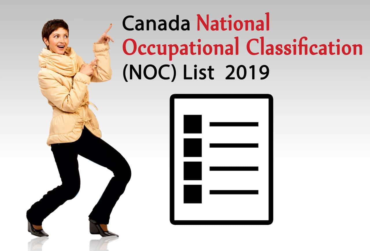 Occupation List Updated By The Canadian Government