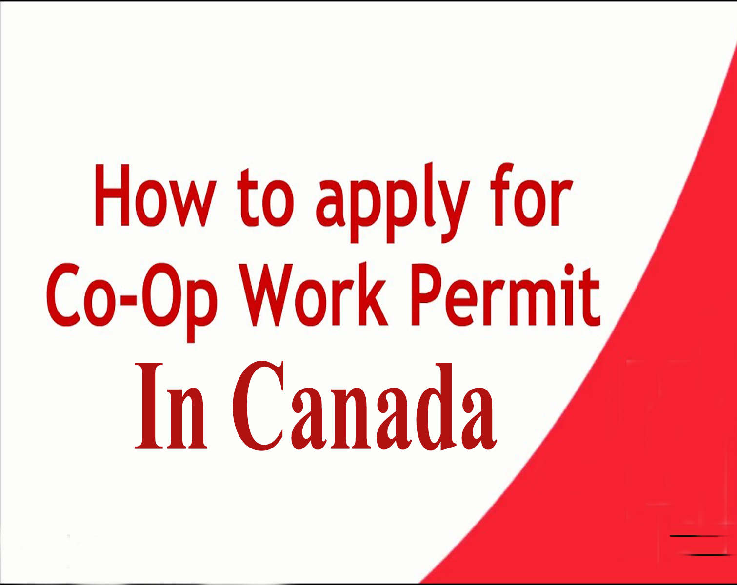 How to Apply for a Work Permit in Canada?
