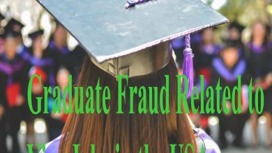 Graduate Fraud Related to Visa Jobs in the USA