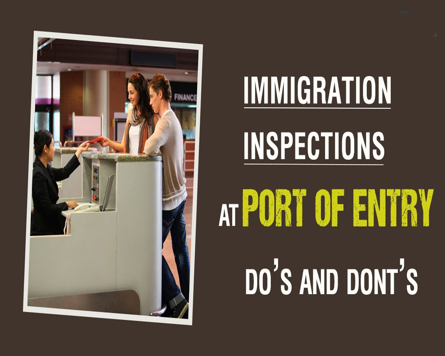 Work Permit Port of Entry Interview Questions