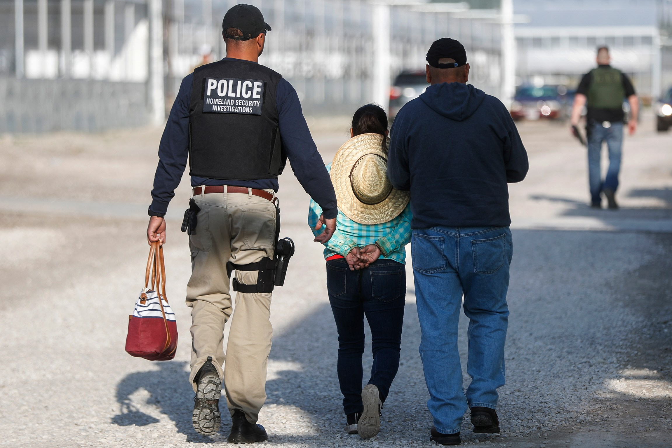 Immigration workers fight the deportation raids