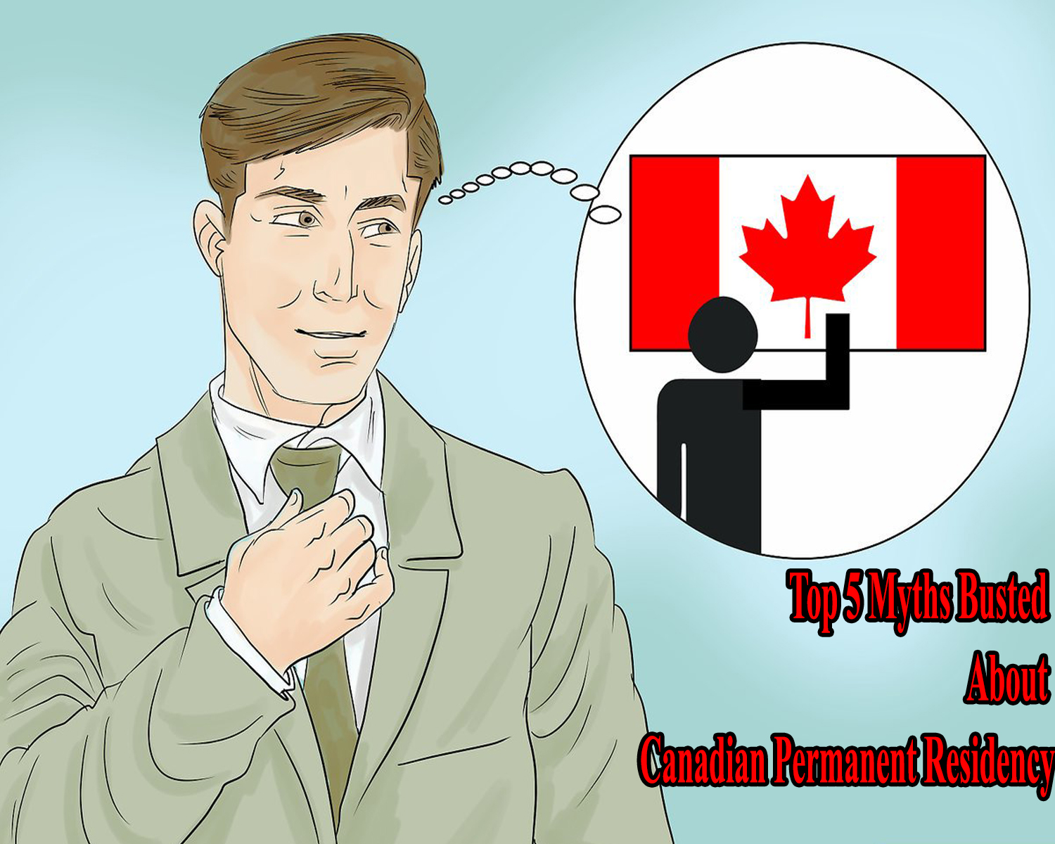 Canadian permanent residence.