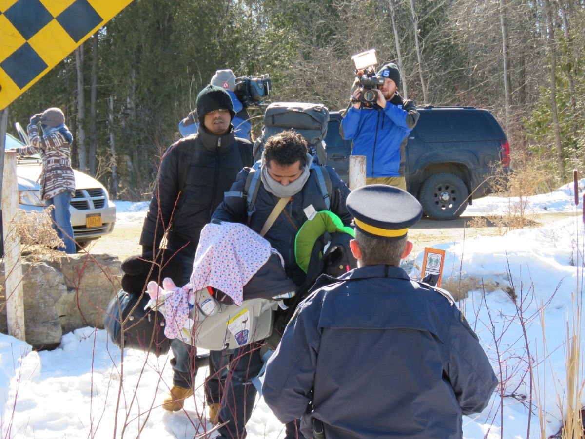The Real Picture of Irregular Border Crossing in Canada