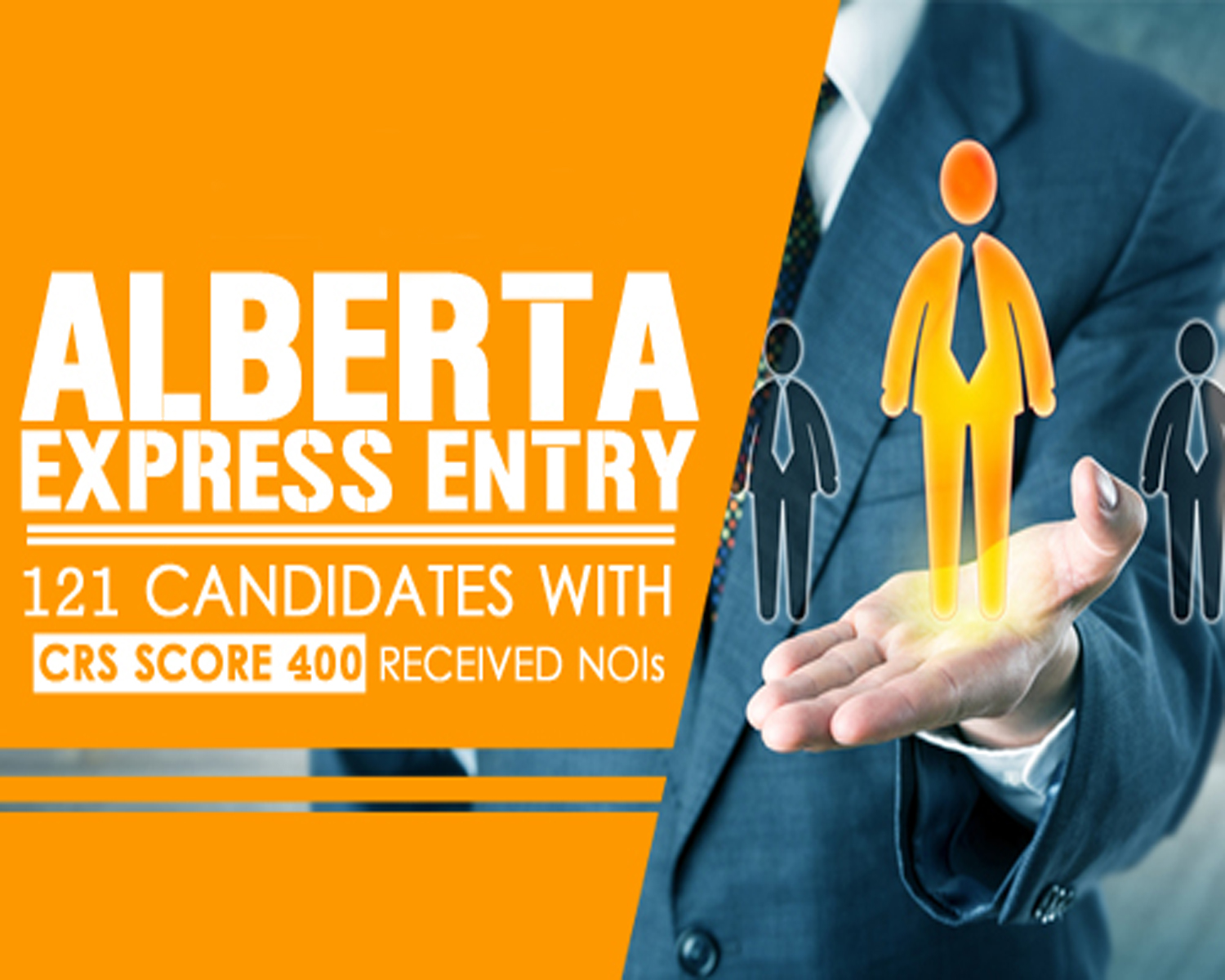 Alberta has invited 374 Express Entry candidates with CRS Score as low as 400 for Canadian permanent residency