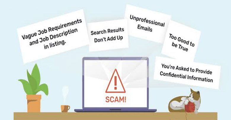fraudulent job offer in Canada