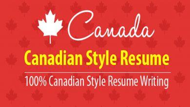 Canadian Style Resume Writing