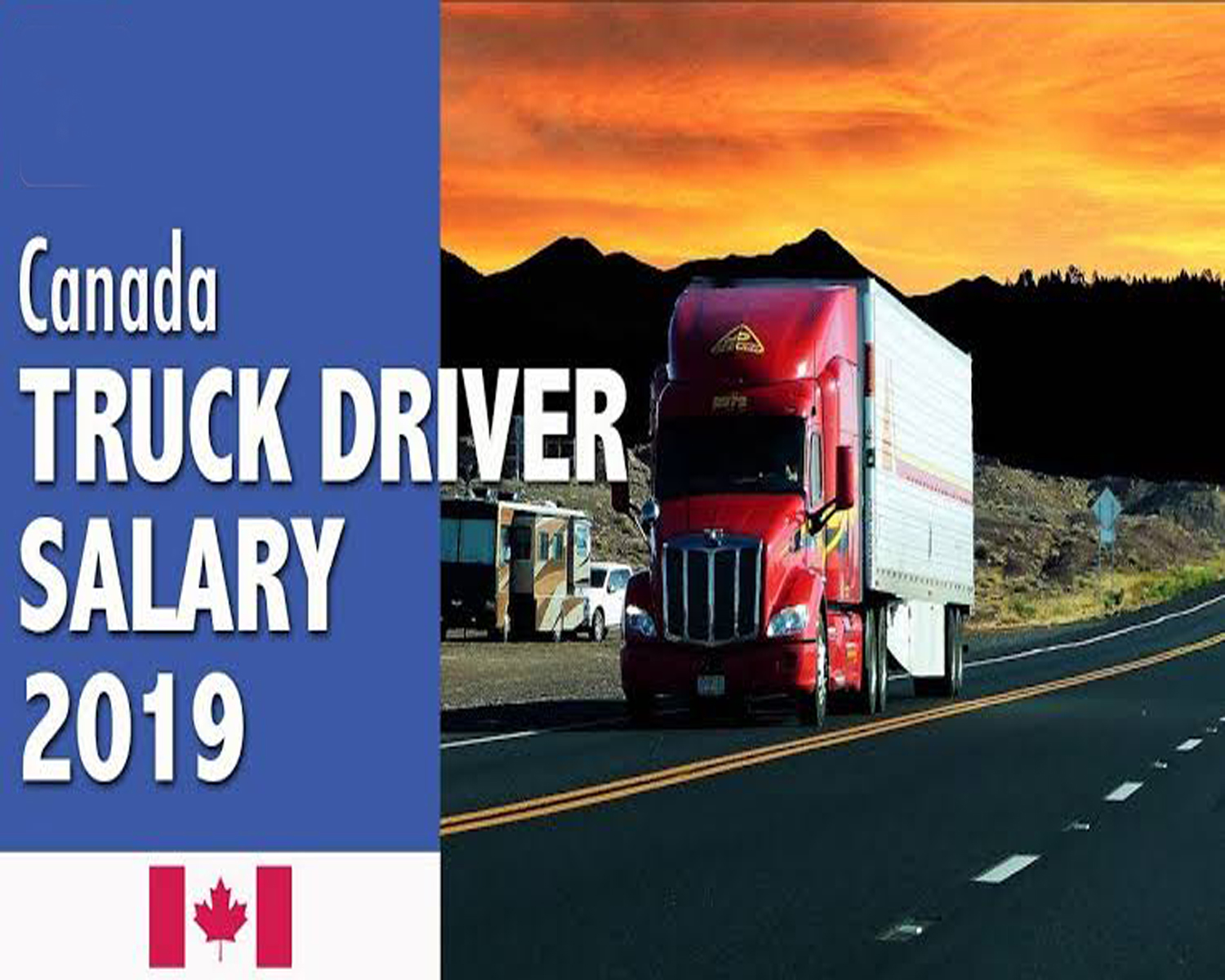 truck driver salary in Canada