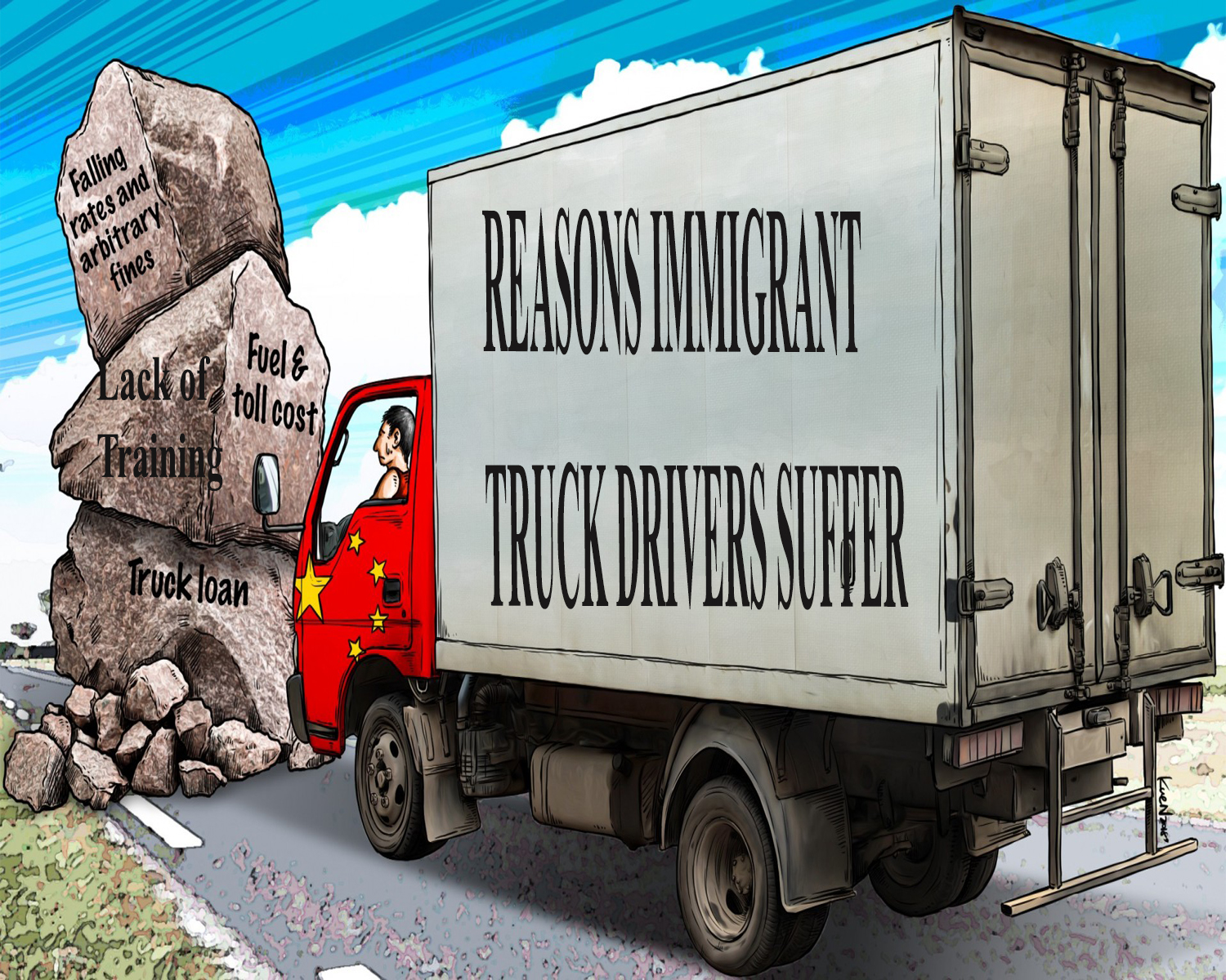 Immigrant Truck Drivers