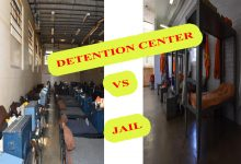 difference between detention center and jail