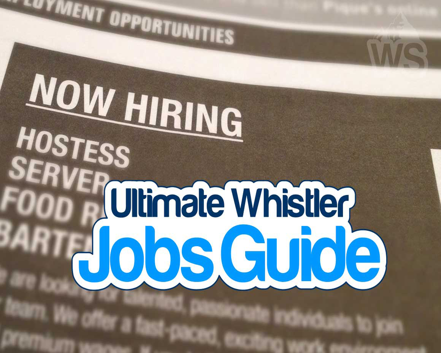 whistler job guide