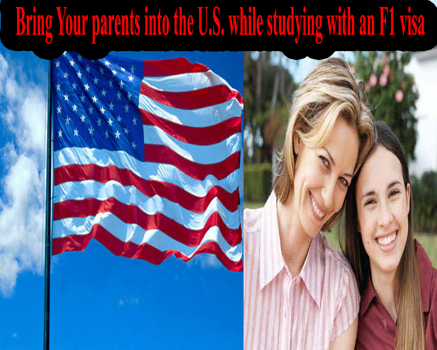 b2 visa for bringing parents to USA