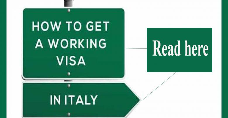 work visa in italy