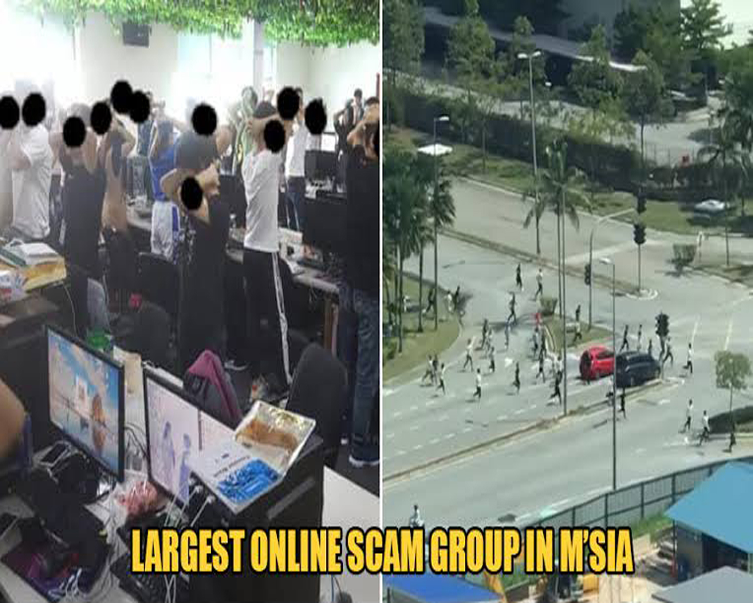 Malaysia's largest online scam syndicate busted by Immigration Dept