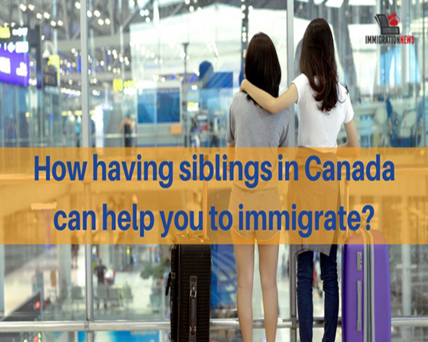 Process of sponsoring Siblings to Canada by A Canadian Permanent Resident Who is not yet a citizen)