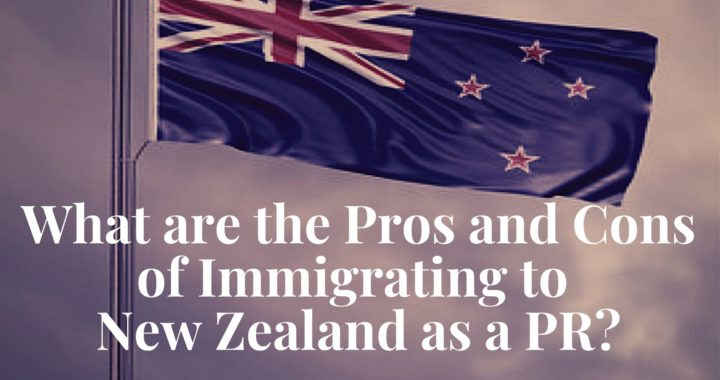 immigrating to New Zealand as a PR