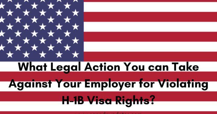 Violating H-1B Visa Rights 1