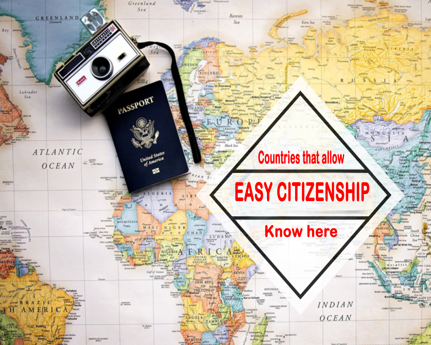 Countries which give easy Citizenship 2020