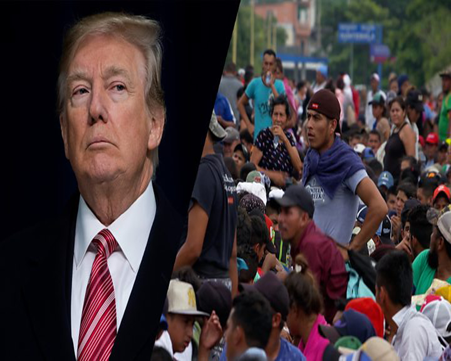 Trump administration has made a lot of asylum-seekers wait for their hearings in Mexico and this has lead to a fall in the illegal crossings at the borders