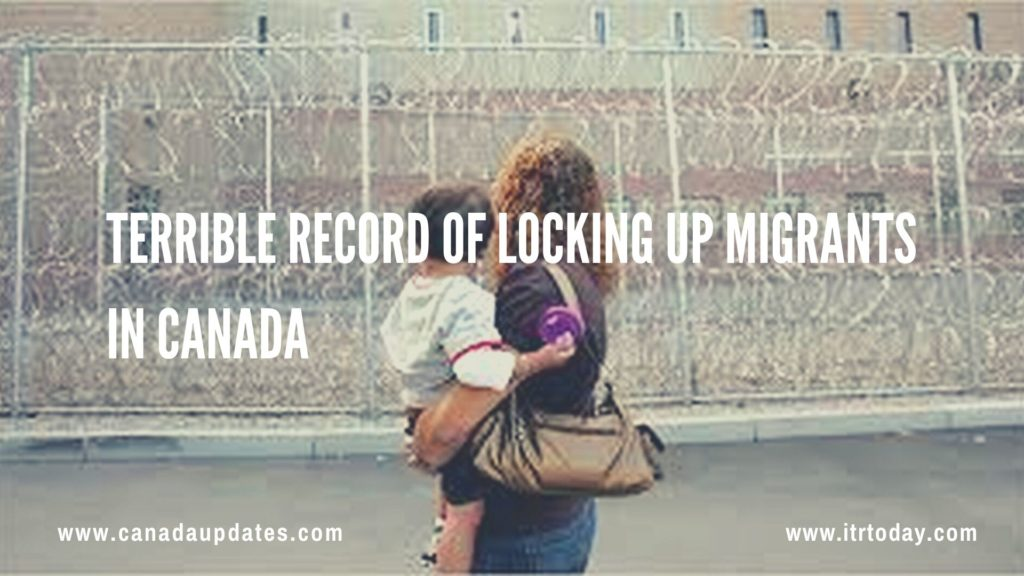 Terrible Record of Locking Up Migrants in Canada