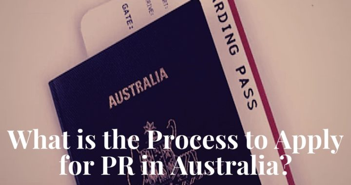 What is the Process to Apply for PR in Australia
