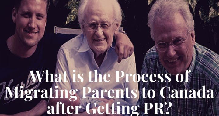 Process of Migrating Parents to Canada 1